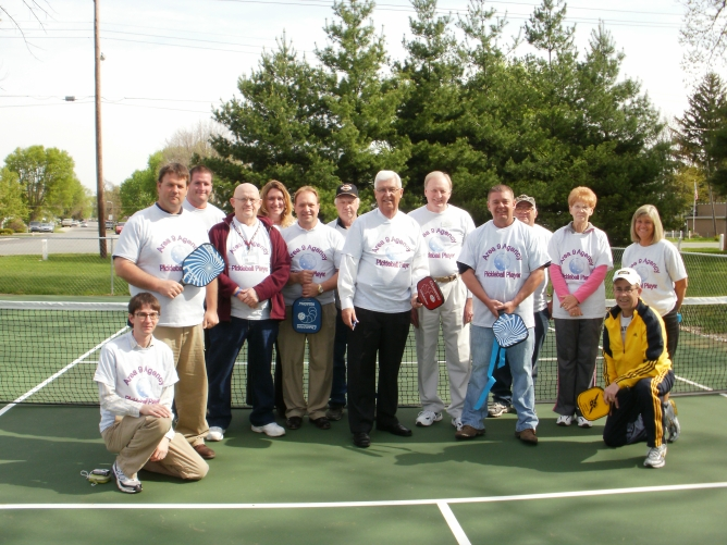 Connersville Indiana pickleball courts dedication