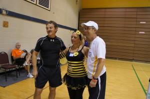 Jeff Siebert, Rodney Rocket Grubbs and Deborah Weeks