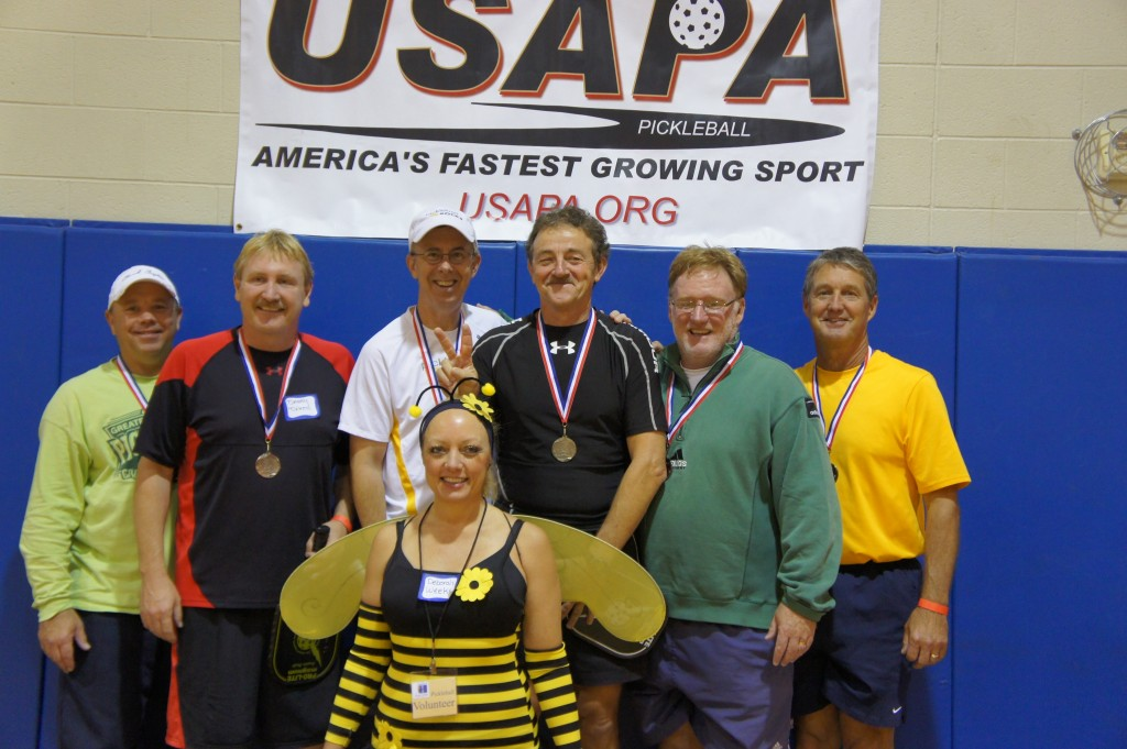 Rodney Rocket Grubbs, Jeff Siebert Hartland Pickleball Winners
