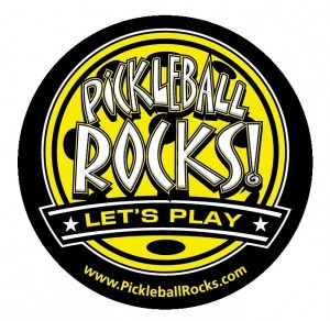 Where them proudly. Pickleball Rocks
