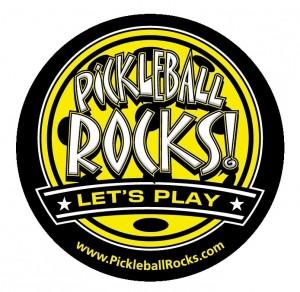 Where them proudly. Pickleball Rocks