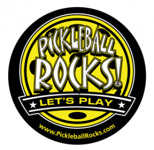 Pickleball Car Magnet