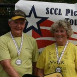 Sharon Mackenzie and Jim Spicer Silver Medalists