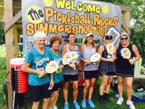3.0 Ladies Shootout Winners