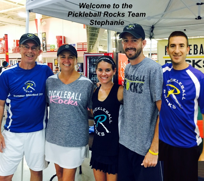 Stephanie Lane Joins Pickleball Rocks Team