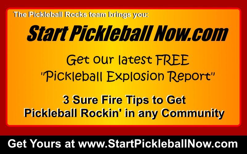 Start Pickleball Now