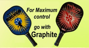 Graphite pickleball paddles