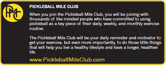 Pickleball Mile Club