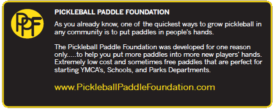 Pickleball Rocks Pickleball Paddle Foundation