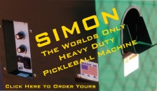 Simon The Pickleball Ball Machine