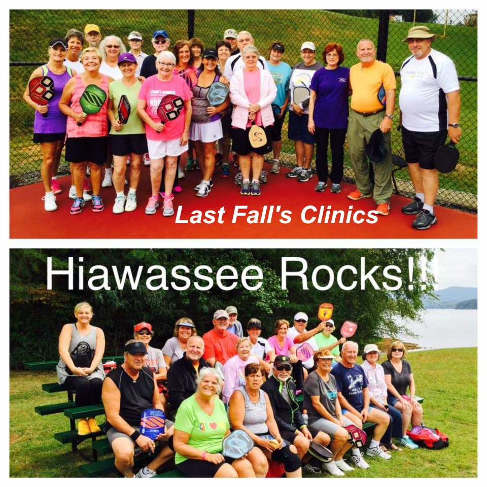 Hiawassee Pickleball Clinics Fall 2015