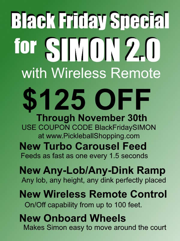 Black Friday SIMON 2.0 Special