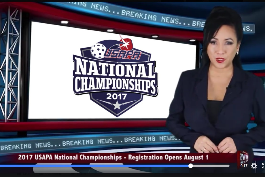 USAPA National Pickleball Championships with CBS Sports Network
