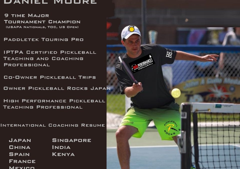 Scott Moore, Daniel Moore and Jonathan Moore Join Forces With The Pickleball Rocks Training Academy