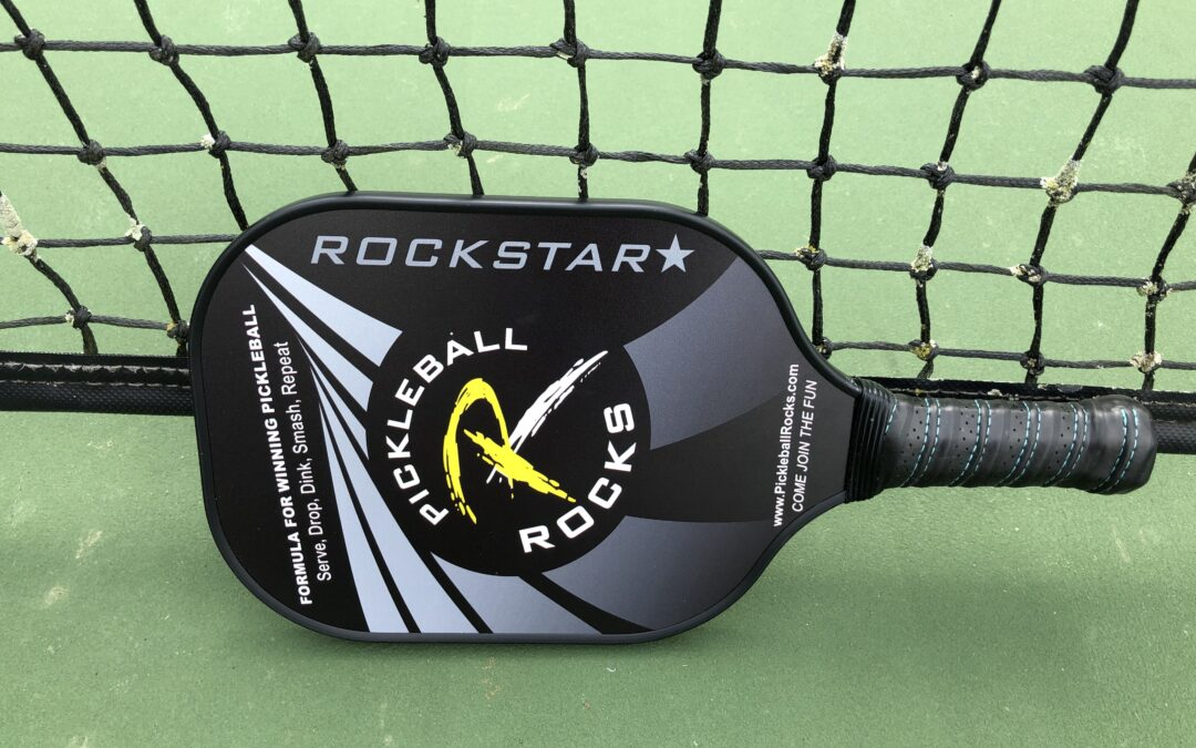 The Pickleball Rocks Rockstar Paddle is Here